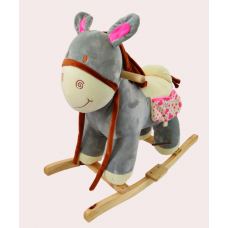 Baby rocker/kids rocker animals character gray