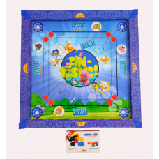 IMPORT Kids Carrom Board Set Including  Striker and Coins Bubble Guppies Print (50cm x 50cm)