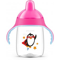 Avent Baby sipper  Premium Spout Cup 260ml - Pink