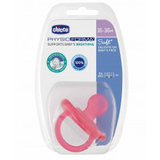 Chicco Physio Soft Silicone Orthodontic Soother Pink