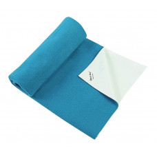 Quick Dry Plain Baby Dry Sheet (Cyan)