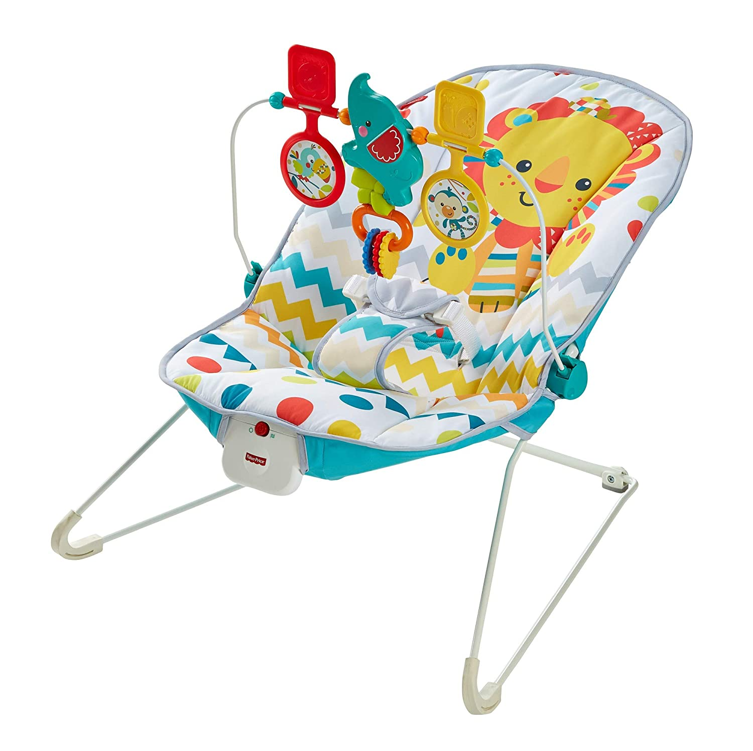 Fisher-Price Colourful Carnival Bouncer (KC)