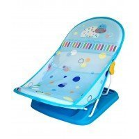 LuvLap Baby bather blue Hippo - 18170