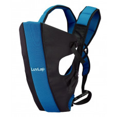 LuvLap Sunshine Baby Carrier - Black Blue