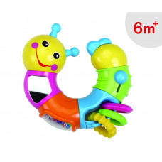 Luvlap Caterpillar Twist and Turn for Baby, Multicolor
