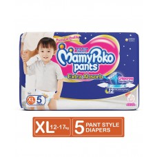 MamyPoko Extra Absorb Pant Style Diapers Extra Large Size - 5 Pieces
