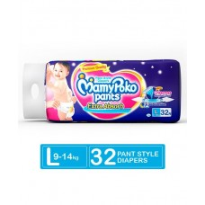 MamyPoko Extra Absorb Pant Style Diapers Large - 32 Pieces