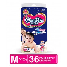 MamyPoko Extra Absorb Pant Style Diapers Medium - 36 Pieces