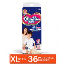 MamyPoko Extra Absorb Pant Style Diapers Extra Large Size - 36 Pieces