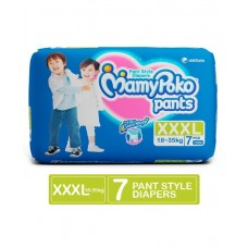 MamyPoko Extra Absorb Pant Style Diaper XXX Large Size - 7 Pieces