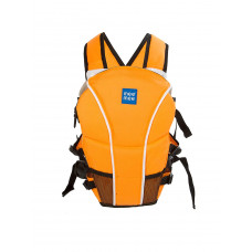 Mee Mee Light Weight Baby Carrier (Lightweight Breathable, Orange)