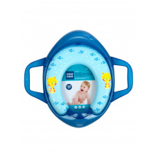 Mee Mee Soft Cushioned Potty Seat With Support Handles - blue