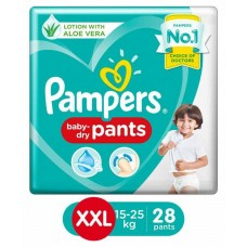 Pampers New Pant Style Diapers XXL Size - 28 Pieces