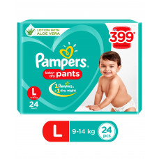Pampers Pant Style Diapers Large - 24 Pieces