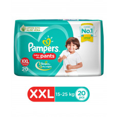 Pampers New Pant Style Diapers XXL Size - 20 Pieces