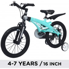R for Rabbit Kids Bicycle 16 inch for 4 to 7 years (light green) PT