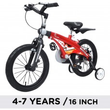 R for Rabbit Kids Bicycle 16 inch for 4 to 7 years (RED) PT