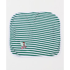 Tinycare Striped Print Towel (Green)