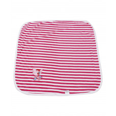 Tinycare Striped Print Towel (Pink)