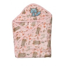 Quick dry baby sleeping bag/Baby wrapper - Pink