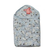 Quick dry baby sleeping bag/Baby wrapper - Blue