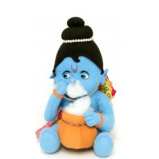 Fun zoo Soft toys Makhan chor  30cm