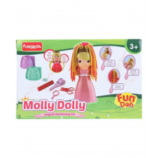 Funskool Molly Dolly Magical Hairdressing kit