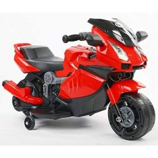 I.JOYS Rechargeable Battery Operated Ride on Bike(Red)