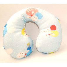 Honey Kid Neck Support Baby Pillow -Sky blue